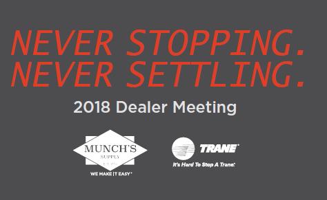 2018 MI Trane Dealer Meeting