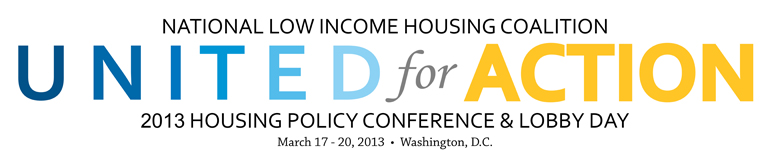 2013 NLIHC Housing Policy Conference & Lobby Day