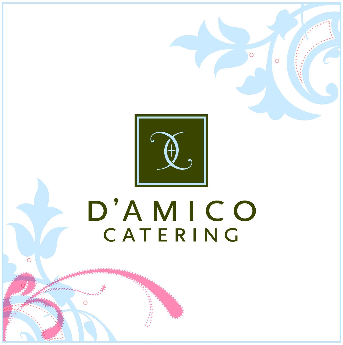 2017 D'Amico Catering Logo