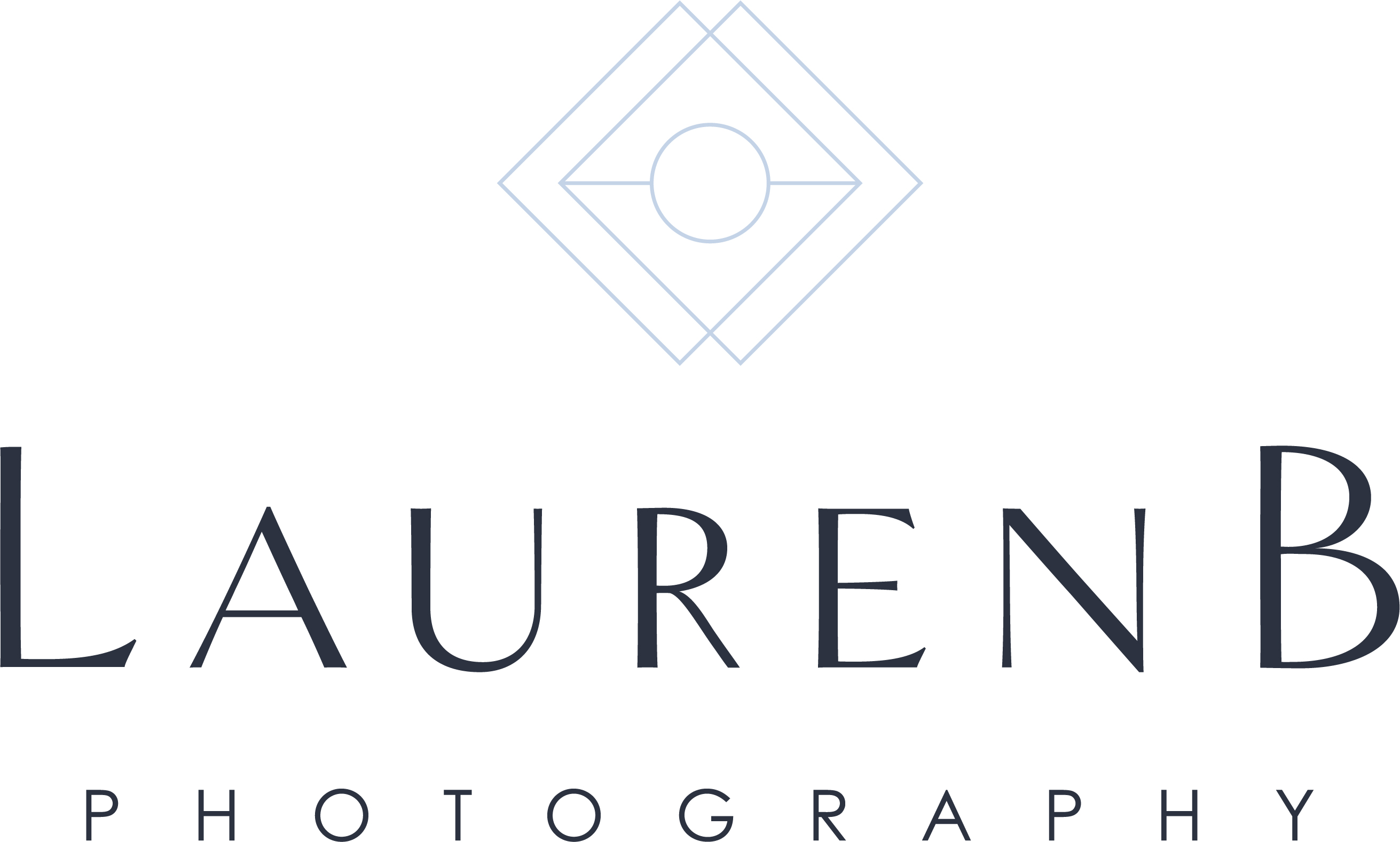 Lauren B Photography - Navy + light blue mix