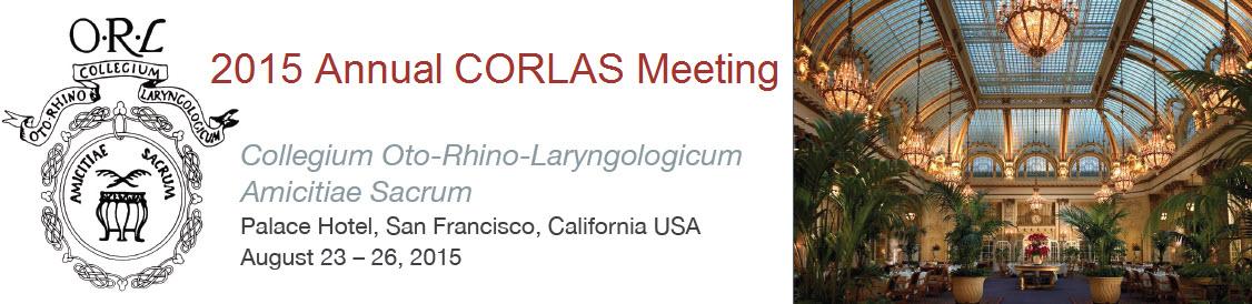 2015 CORLAS Annual Meeting