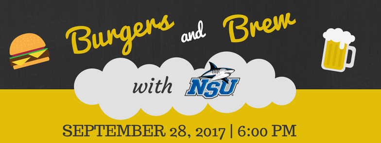 Burgers & Brew with NSU - Jacksonville