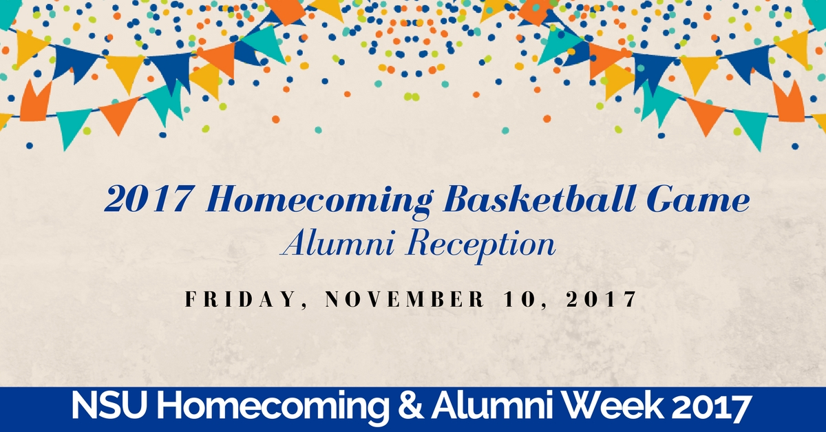 2017 Homecoming Basketball Game and Alumni Recepti