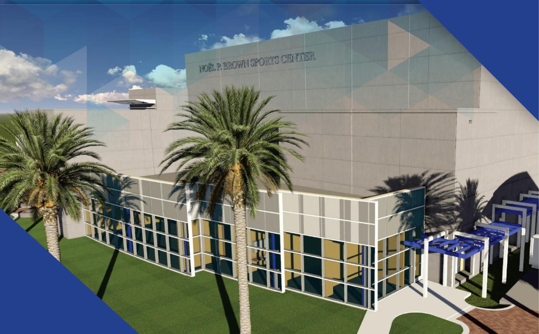 Noel P. Brown Sports Center Dedication