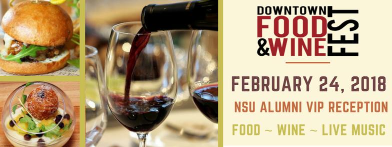 NSU Alumni VIP Reception at the Orlando Food & Wine Fest