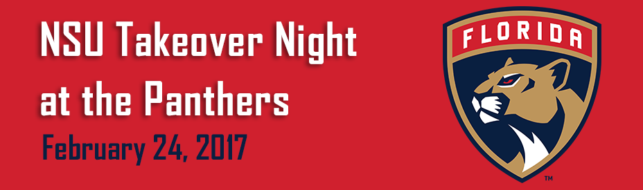 NSU Takeover Night with The Florida Panthers