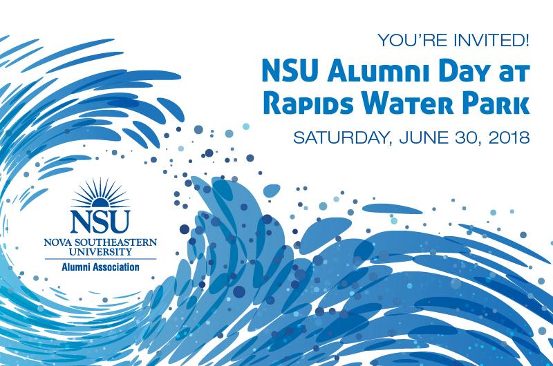 NSU Alumni Day at Rapids Water Park