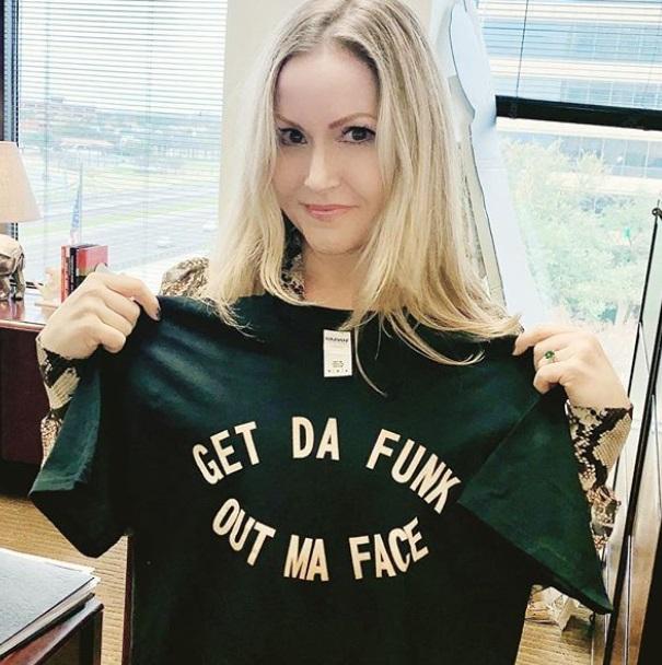 Get da funk out my face