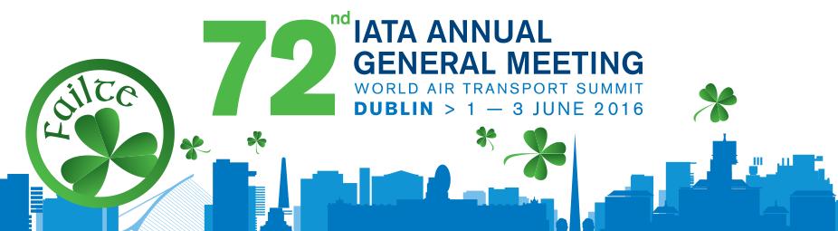IATA AGM 2016 Dublin