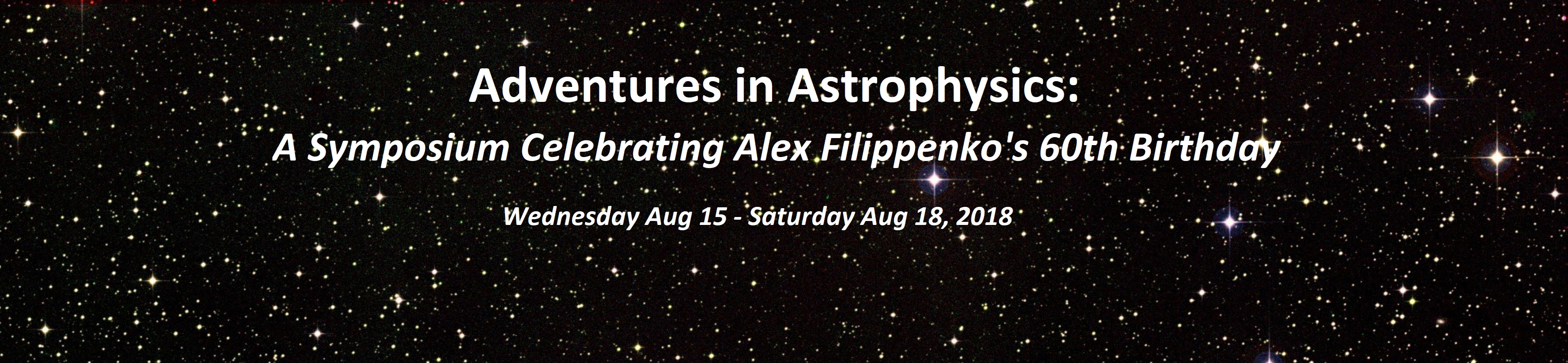 Adventures in Astrophysics