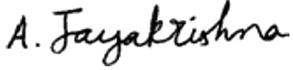 Jayakrishna Ambati Signature
