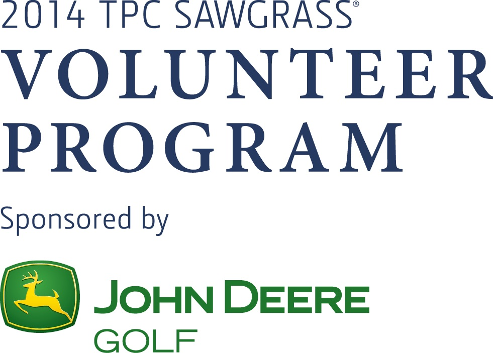 2014 Sawgrass Volunteer Logo