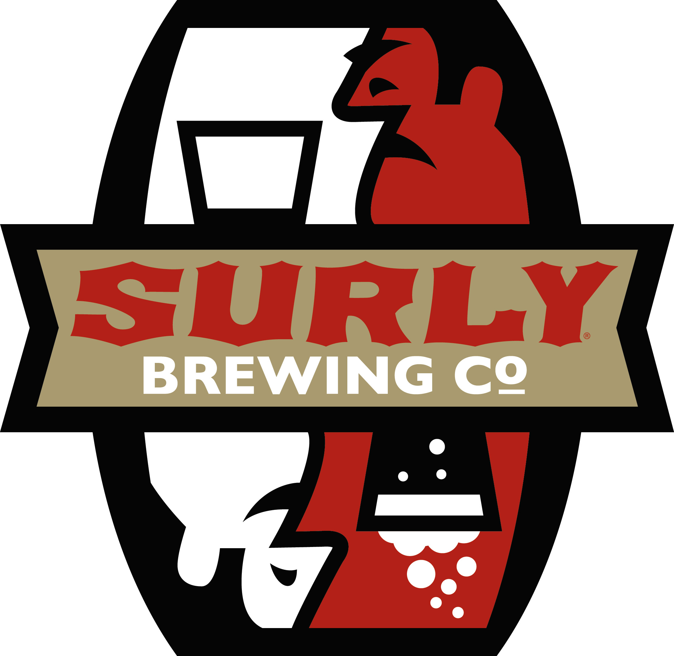 Surly Brewing Co Logo hires