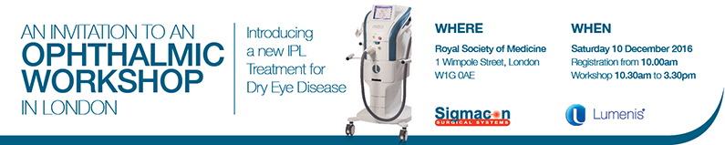 Introducing New IPL Treatment for Dry Eye Disease from Lumenis