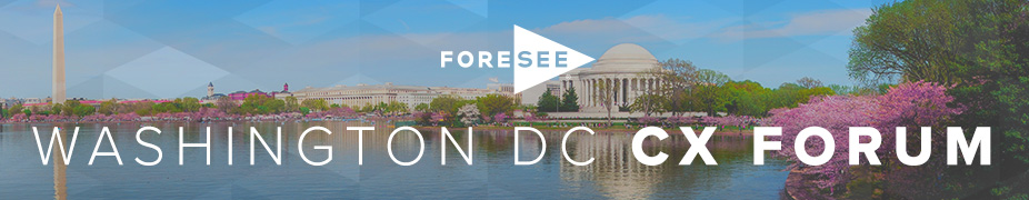 ForeSee CX Forum - DC