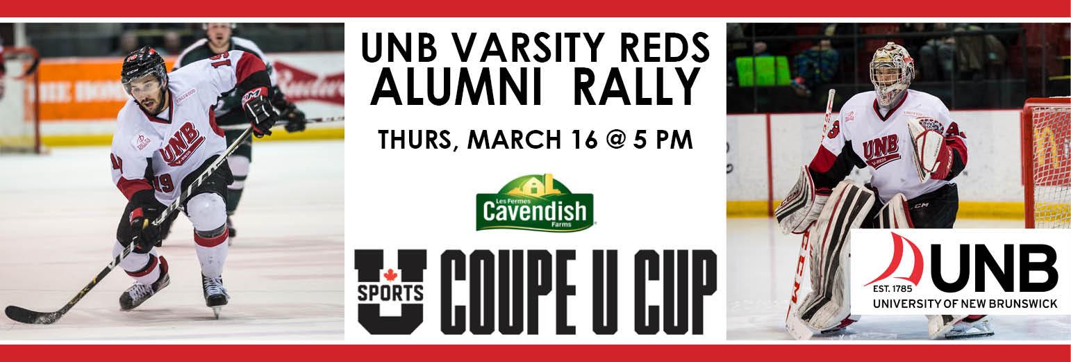 UNB Alumni - Varsity Reds U Cup Rally/Social