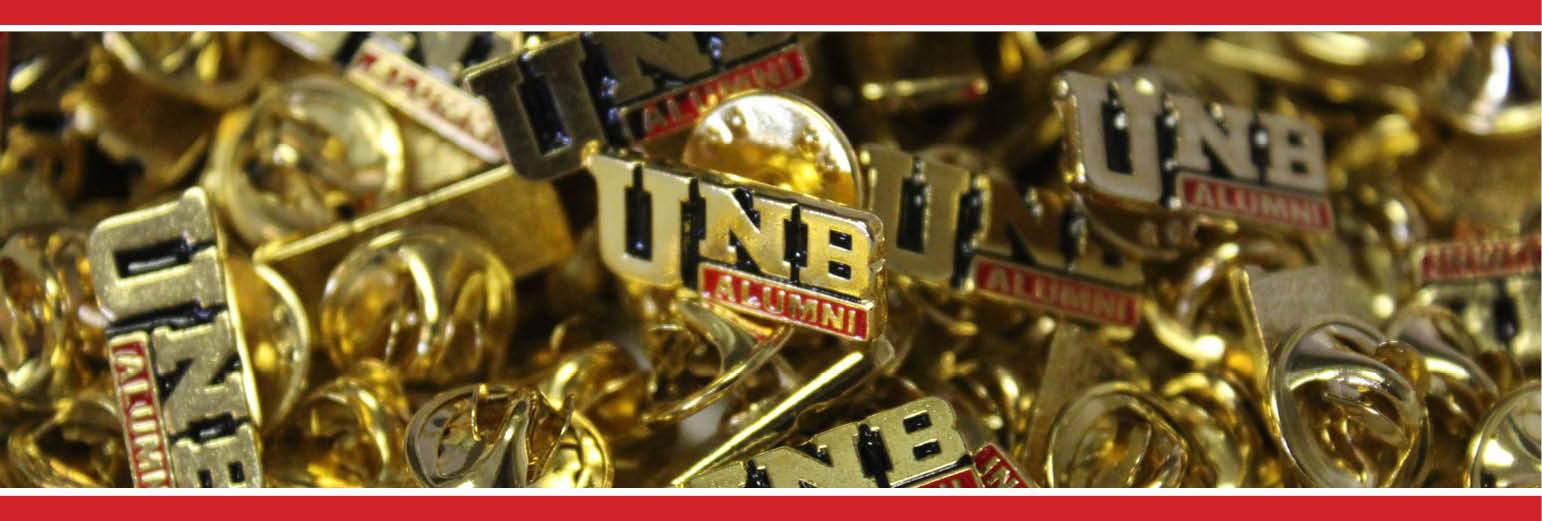 Cvent Banner alumni pins