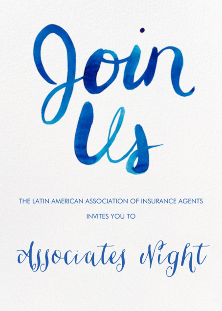 Associates Night 2018