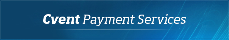 Cvent Payment Services - Customer Onboarding Information