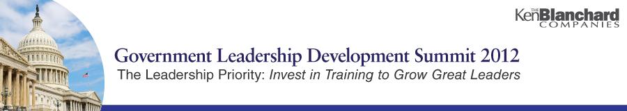 Government Leadership Development Summit 09/26/12