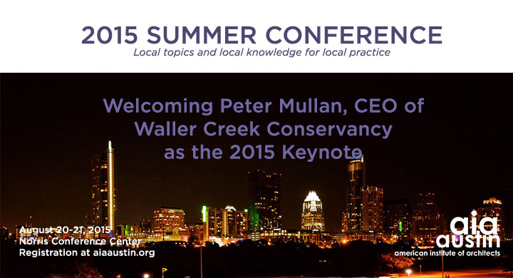 2015 AIA Austin Summer Conference