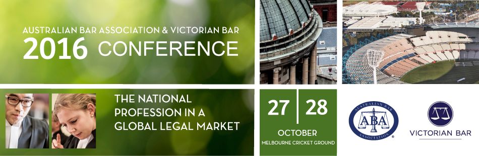 2016 ABA & Victorian Bar National Conference