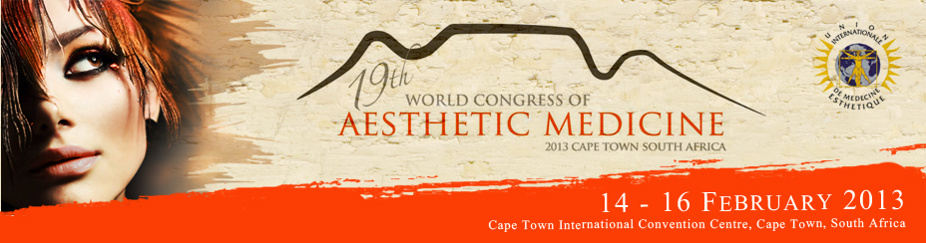 The 19th World Congress of Aesthetic Medicine (WCAM2013)