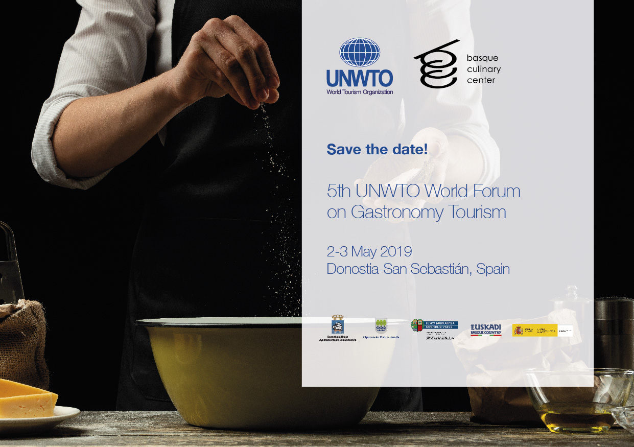 5th UNWTO World Forum on Gastronomy Tourism