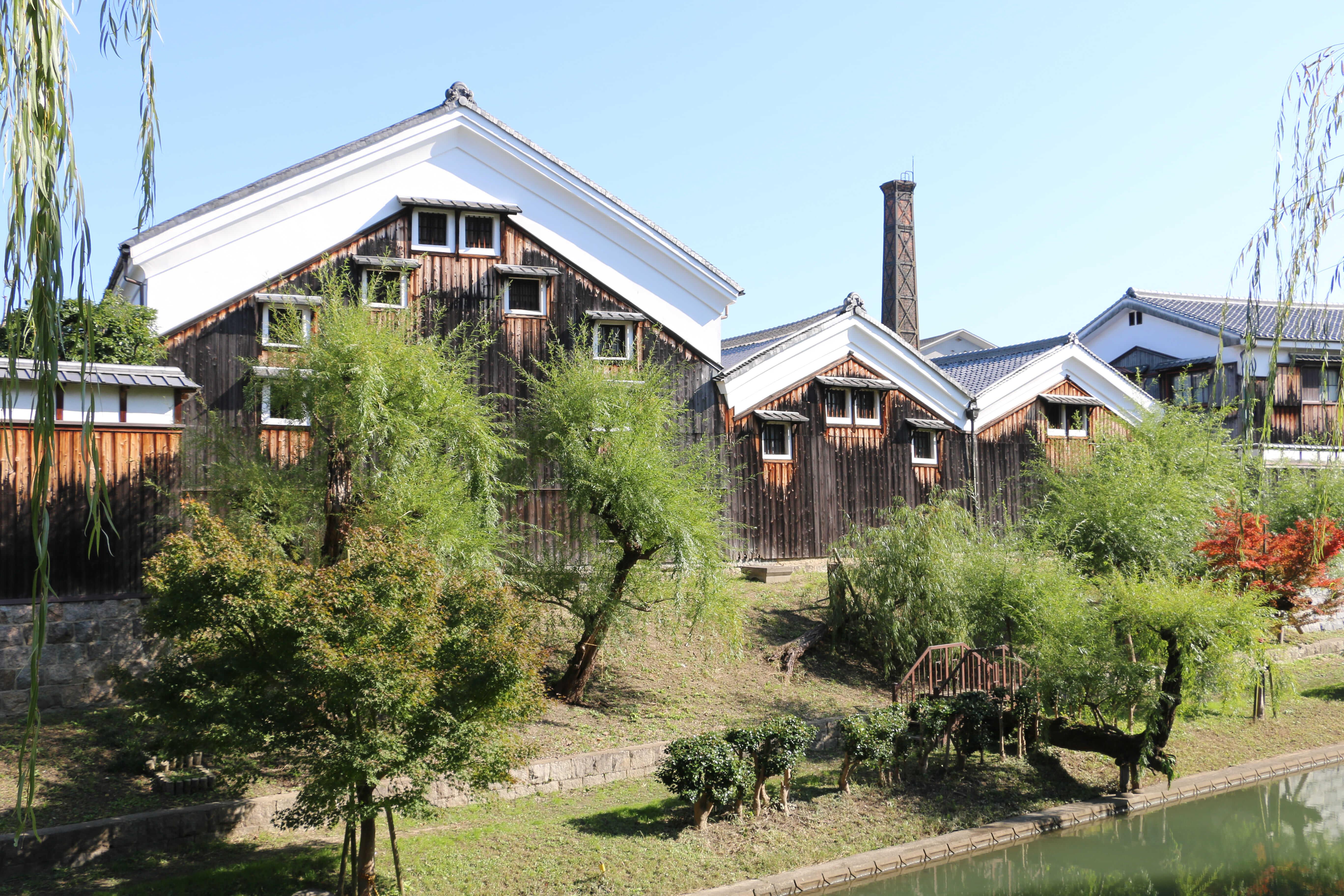 Sake brewery(Gekkeikan)