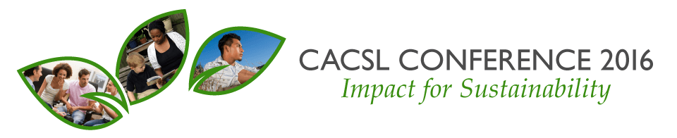 CACSL Conference 2016: Impact for Sustainability