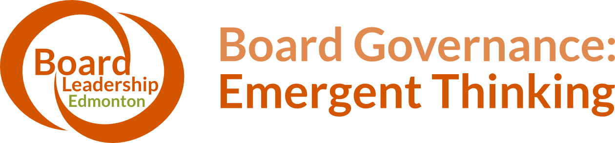 Board Governance: Emergent Thinking