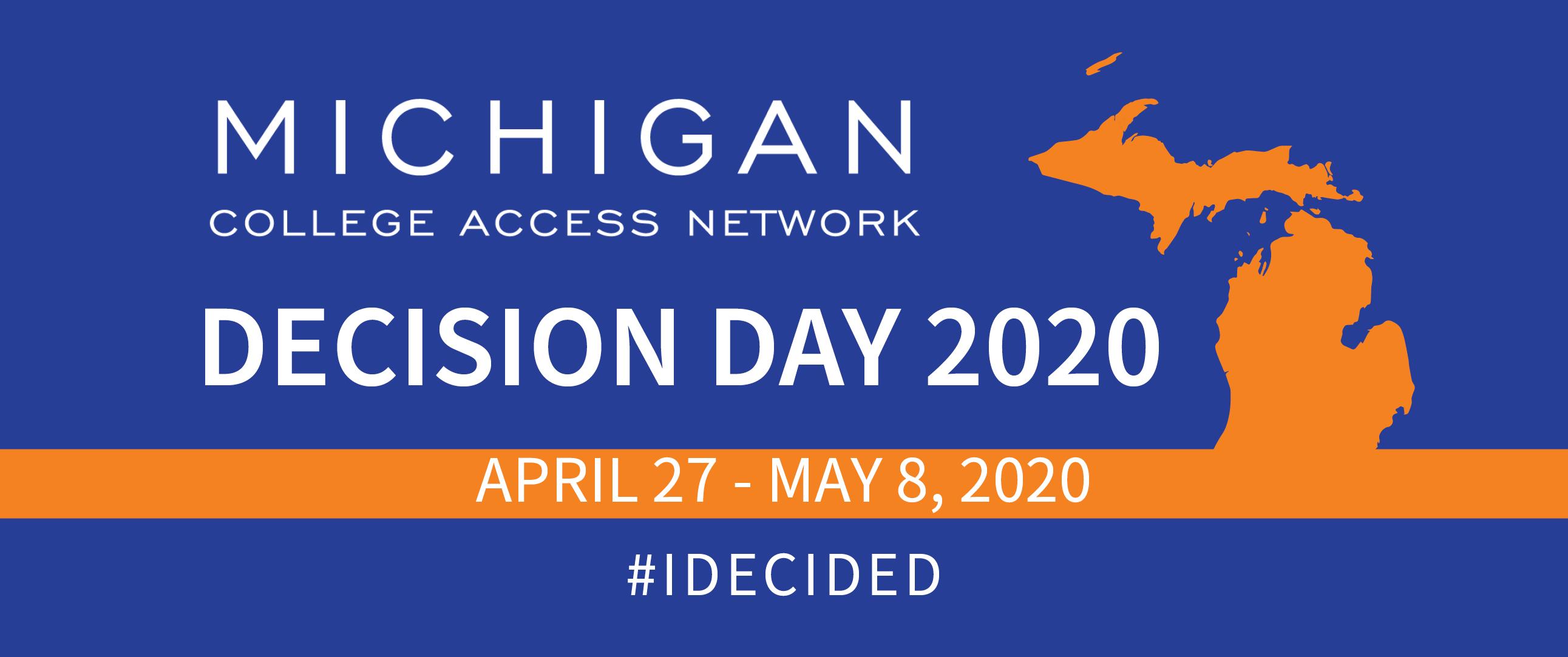 Virtual Decision Day 2020 web banner