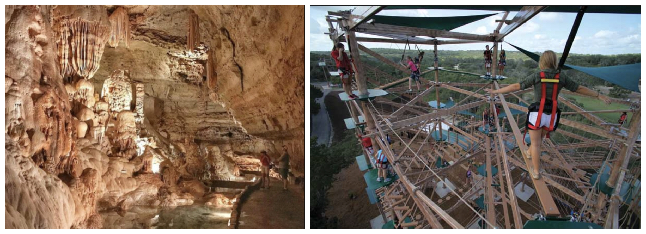 Cavern and Rope Course