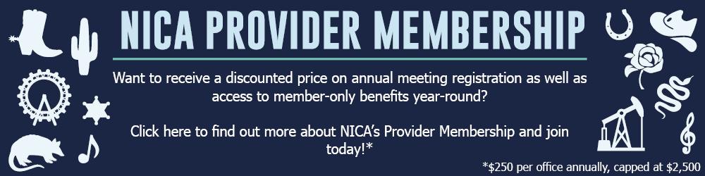 NICA Provider Membership Banner 2020