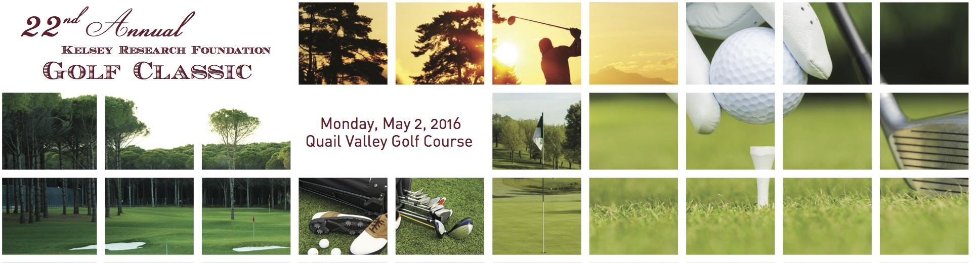The 23rd Annual Kelsey Research Foundation Golf Classic