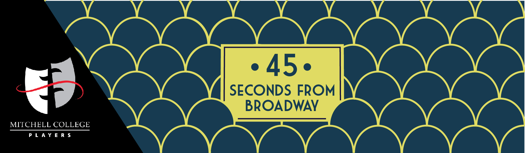 """Mitchell College Players Fall Production – Neil Simon's """"45 Seconds from Broadway"""""""