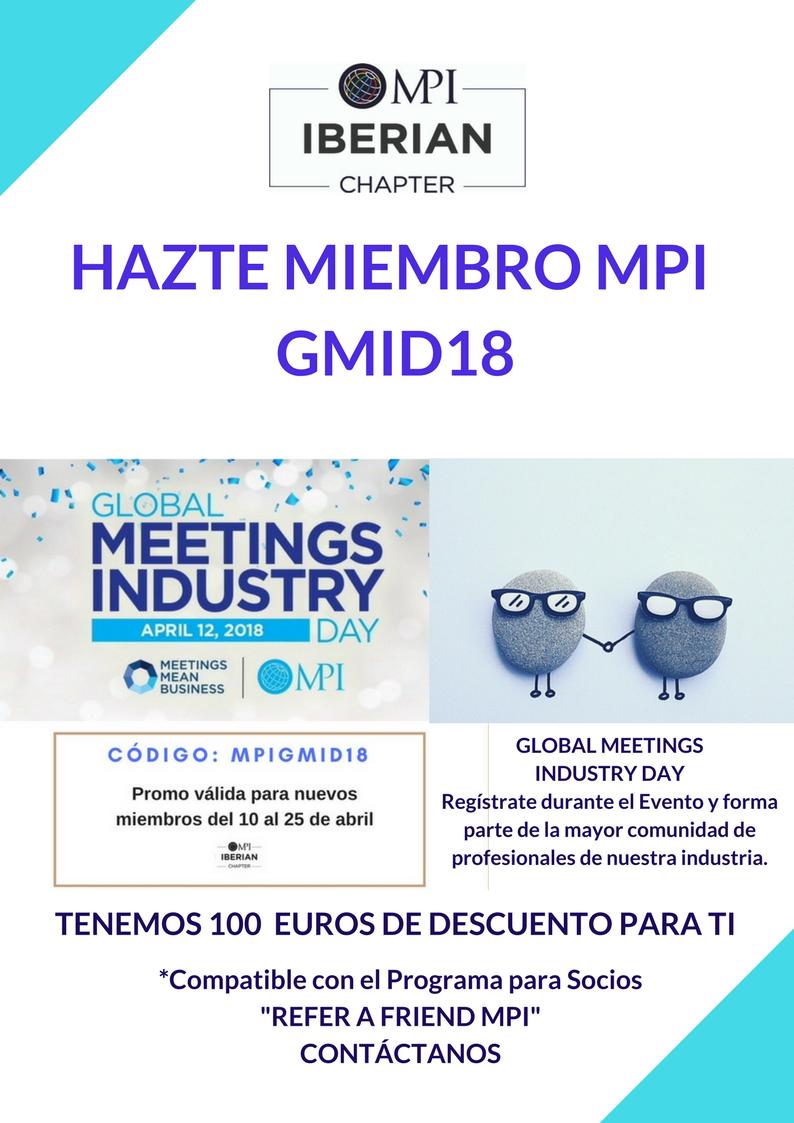 HAZTE MIEMBRO MPI IBERIAN CHAPTER DURANTE GMID 2018 - (1)