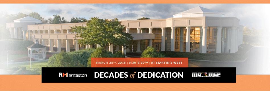 RMI - Decades of Dedication Gala