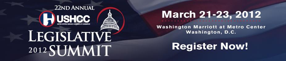 Attendee Registration - USHCC 2012 Legislative Summit