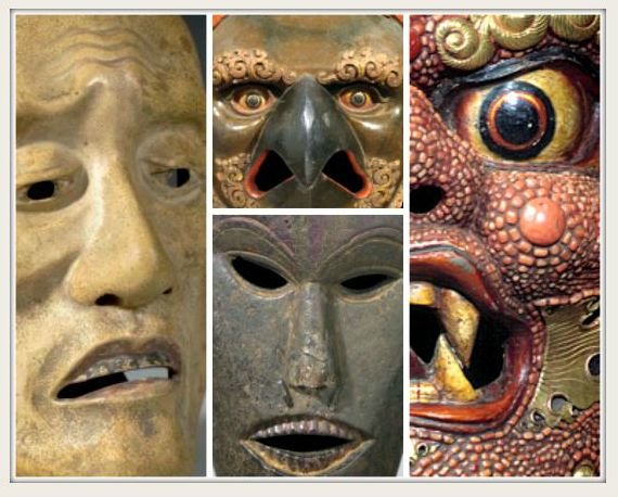 Framed Masks - 2