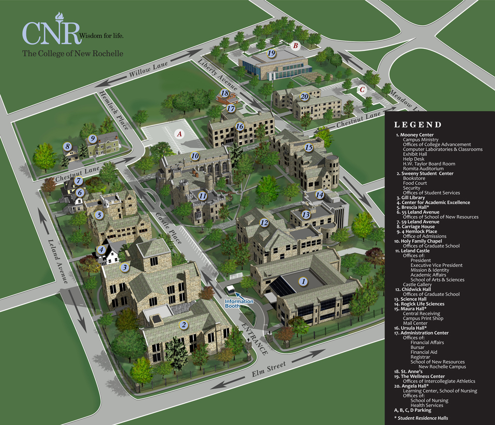 CNR Campus_Map