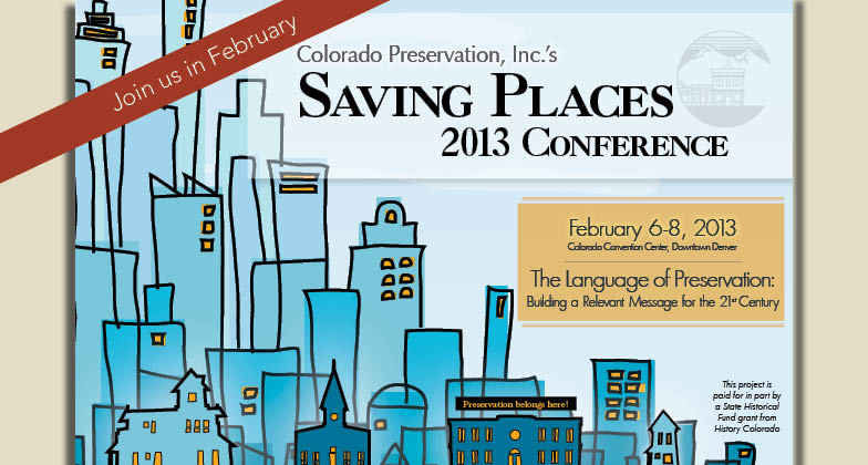 Saving Places 2013: The Language of Preservation