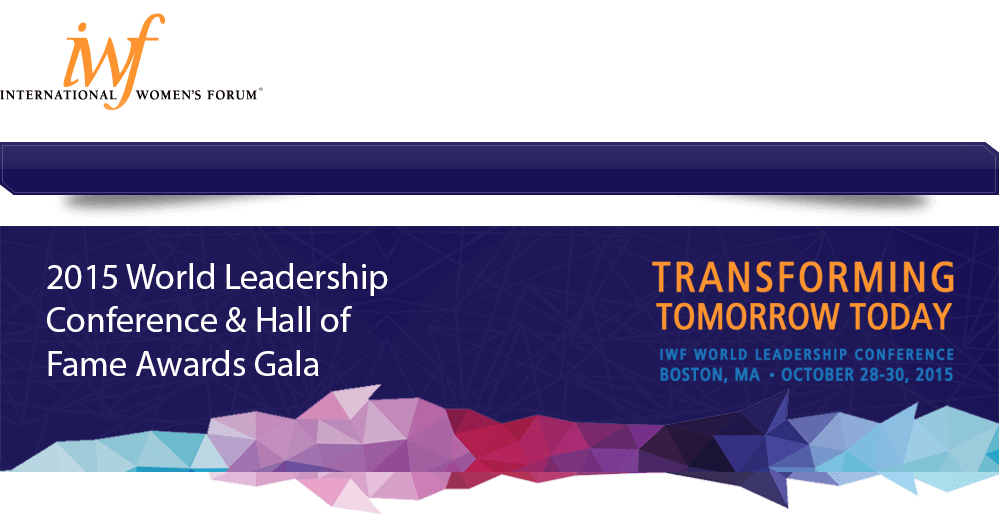 2015 World Leadership Conference & Hall of Fame Awards Gala