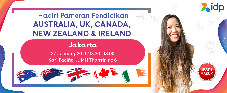 Australia MDs Education Fair Jan 19 - Jakarta