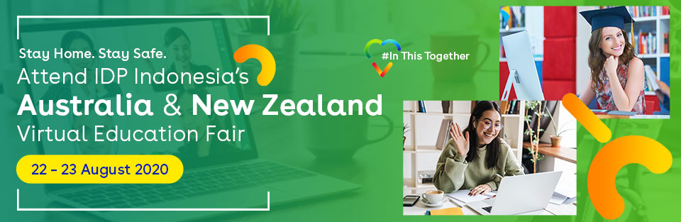 Australia & New Zealand Virtual Education Fair - Aug 2020