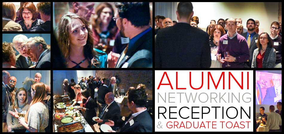 Glenn College Spring Alumni Networking Reception and Graduate Toast