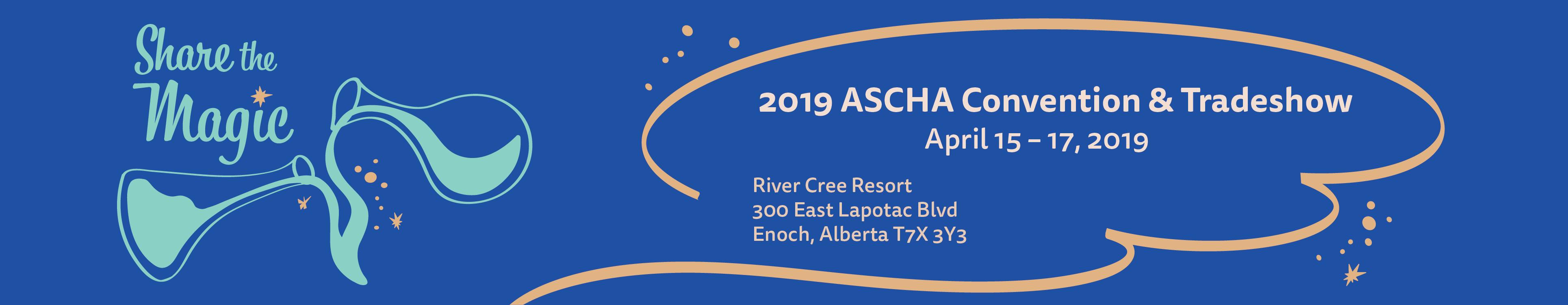 2019 ASCHA Convention & Tradeshow