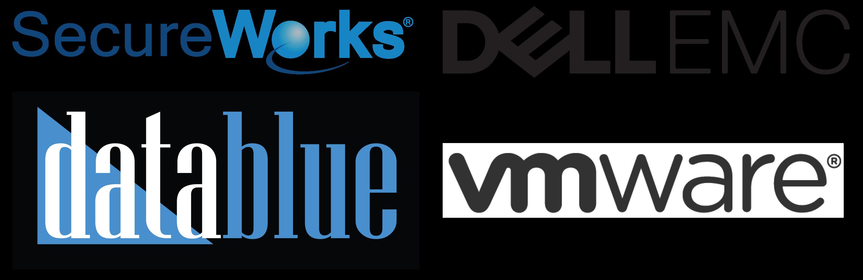 Secure Works DellEMC DataBlue VMWare Logo