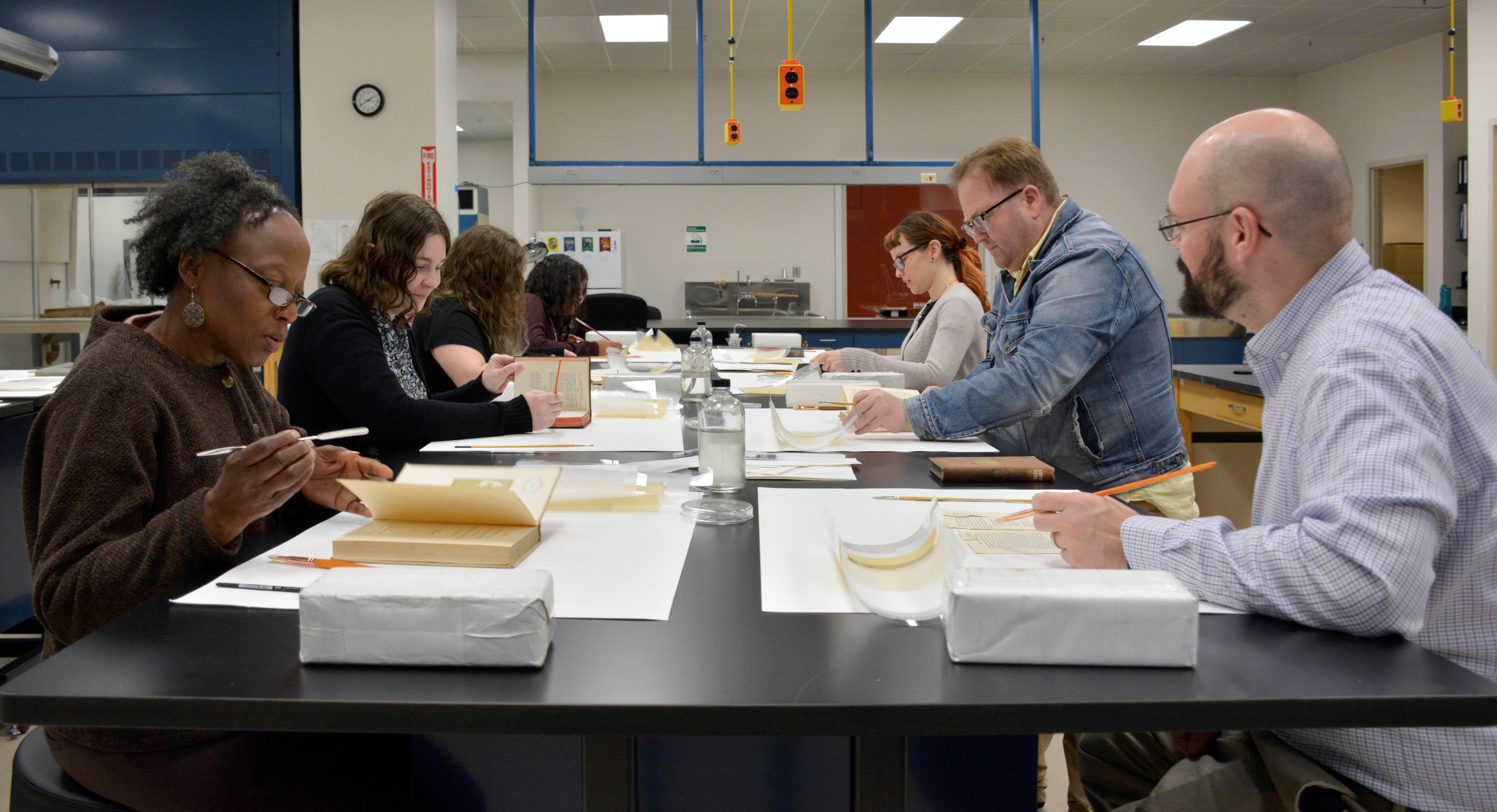 Spring Book and Paper Conservation/Preservation Workshop Series