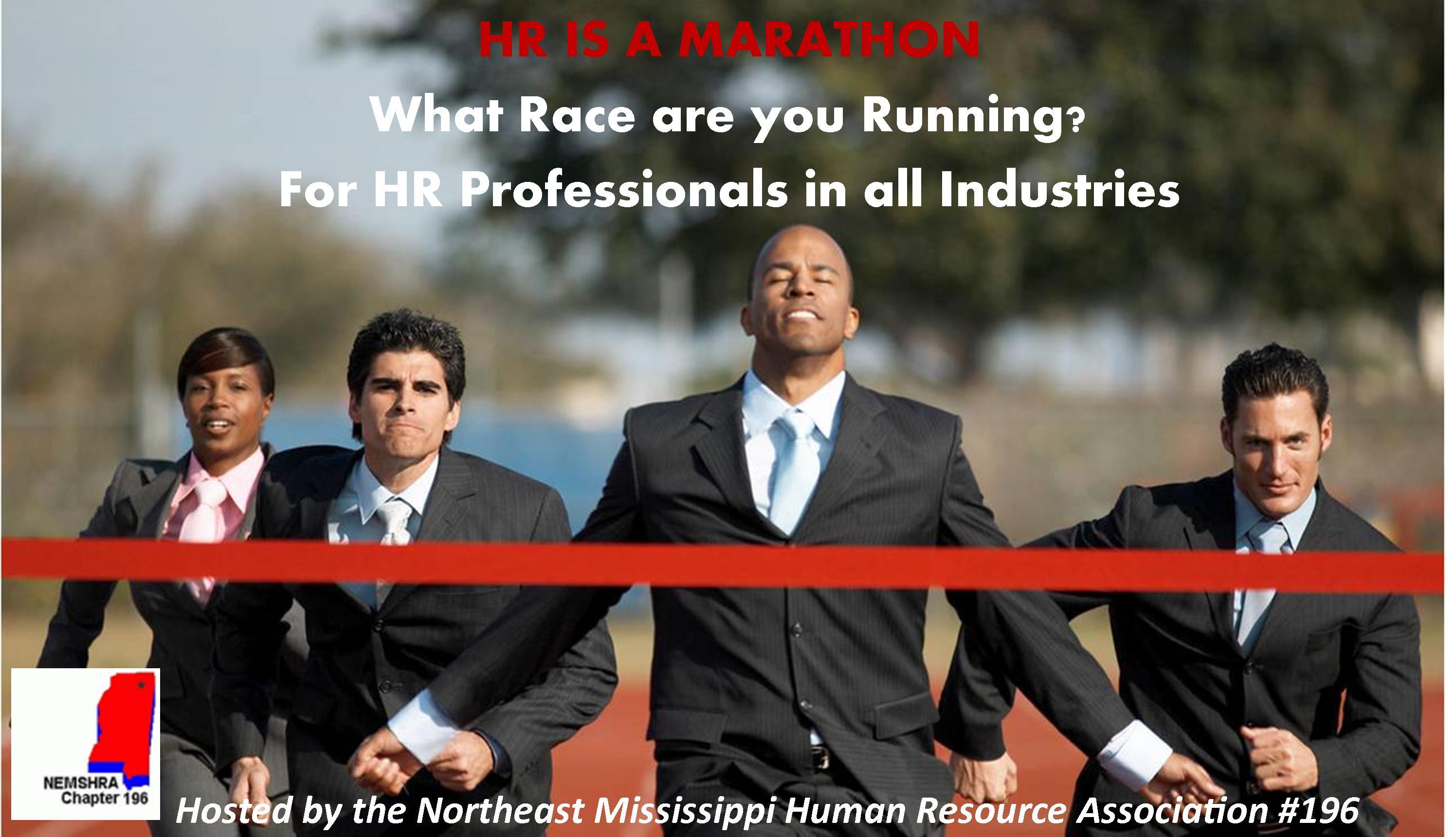 Northeast Mississippi Human Resource Association #196      -    3rd Annual Regional Human Resource Seminar